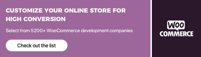 Top WooCommerce Development Companies