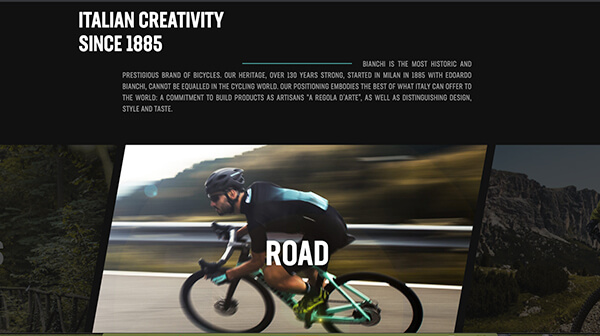Example Of Big Bold Typography In Web Design