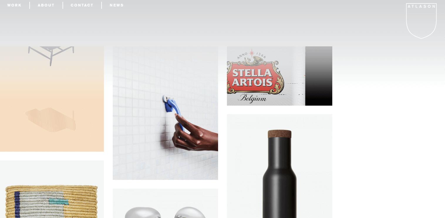 broken grid layouts web design