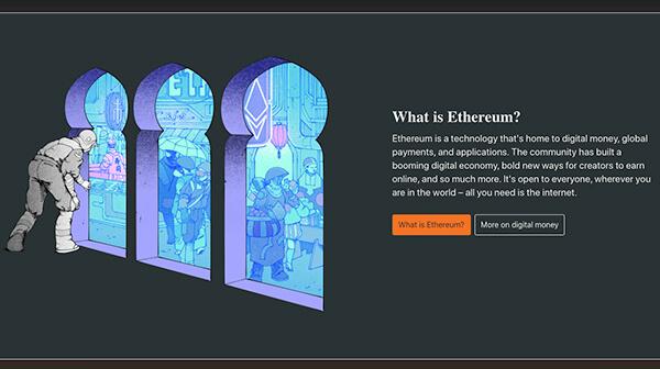 Example Of Cartoon Illustrations In Web Design