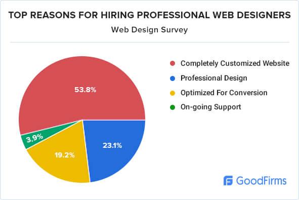 Top reasons for hiring professional web designer