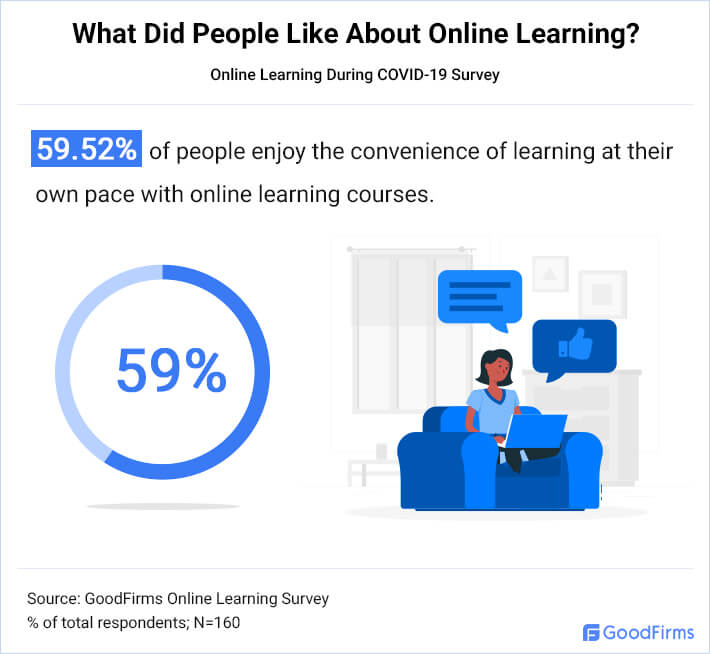 What Did People Like About Online Learning 1
